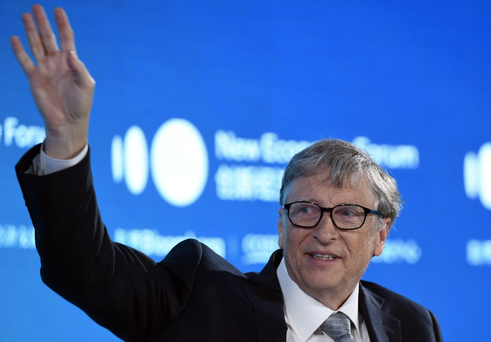 Gates speaks during 2019 New Economy Forum at China Center for International Economic Exchanges (CCIEE) on November 21, 2019 in Beijing, China. (Photo: Hou Yu/China News Service/VCG via Getty Images)