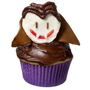 """<p>One look at this cupcake, with its ingenious Tootsie Rolls, licorice strings and frosting for Dracula's features, and you'll be bitten by the dessert bug.</p><p><strong><a href=""""https://www.countryliving.com/food-drinks/recipes/a32696/fangtastic-dracula-cupcake-recipe-122728/"""" rel=""""nofollow noopener"""" target=""""_blank"""" data-ylk=""""slk:Get the recipe"""" class=""""link rapid-noclick-resp"""">Get the recipe</a>.</strong></p>"""