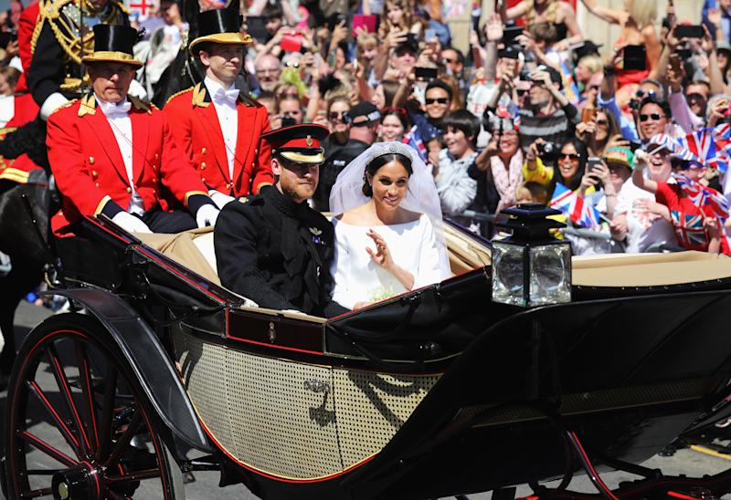 """Prince Harry Went Totally """"Off the Cuff"""" During His Wedding Speech"""
