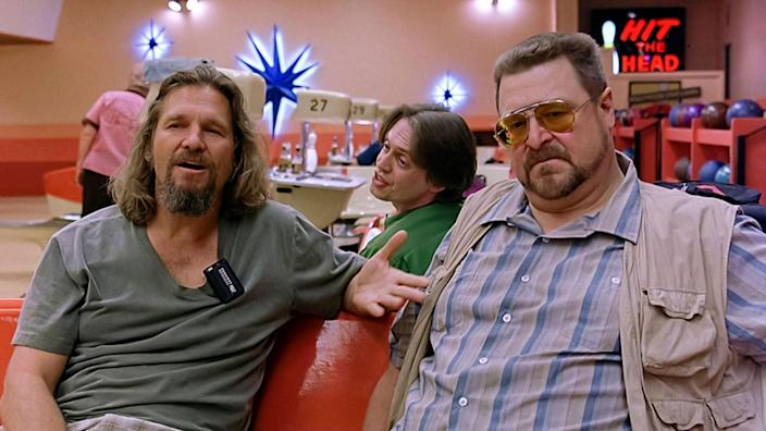 The Big Lebowski (1998) directed by Joel and Ethan Coen and starring John Turturro as Jesus Quintana in this cult classic about  The Dude?s quest to gain compensation for his ruined rug. (Alamy Stock Photo)