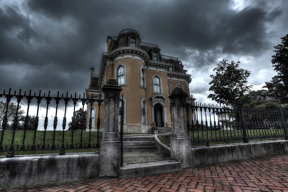 Staff at the Culbertson Mansion in New Albany, Indiana, have kept a file since the 1970s on strange occurrence at the mansion once owned by William Culbertson.