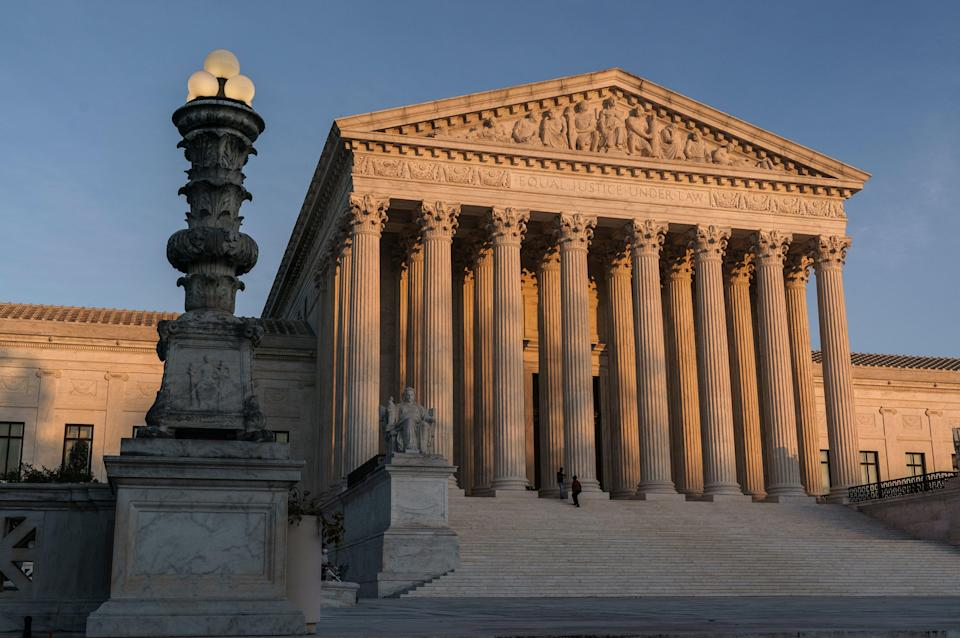Supreme Court Telephone Arguments (Copyright 2020 The Associated Press. All rights reserved)