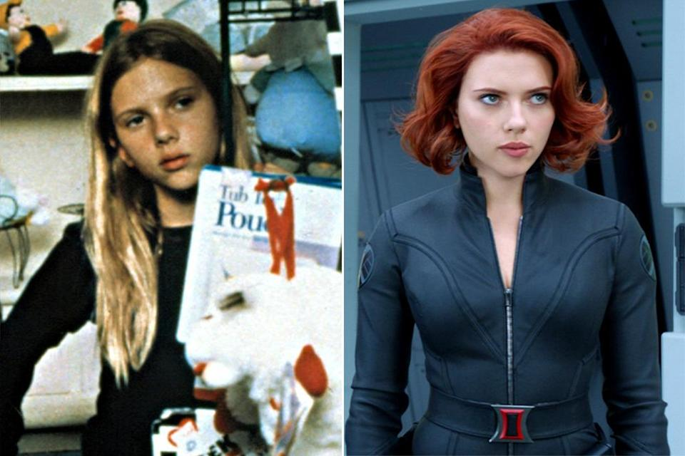 <p>Credit Black Widow's survival skills to Johansson's stint as an 11-year-old foster care runaway, trying to make a life with her pregnant older sister in this 1996 drama. <i>(Photo: Everett/Marvel)</i></p>