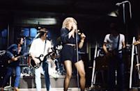 """<p>Performing as a musical guest on """"Saturday Night Live.""""</p>"""