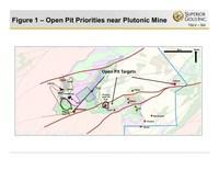 Figure 1 - Open Pit Priorities near Plutonic Mine (CNW Group/Superior Gold)