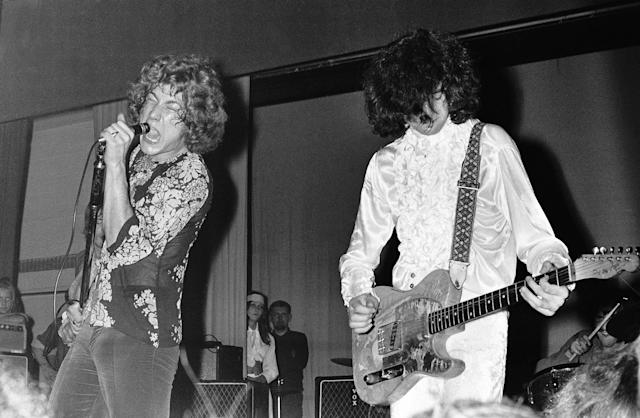 Led Zeppelin reflect, 50 years later