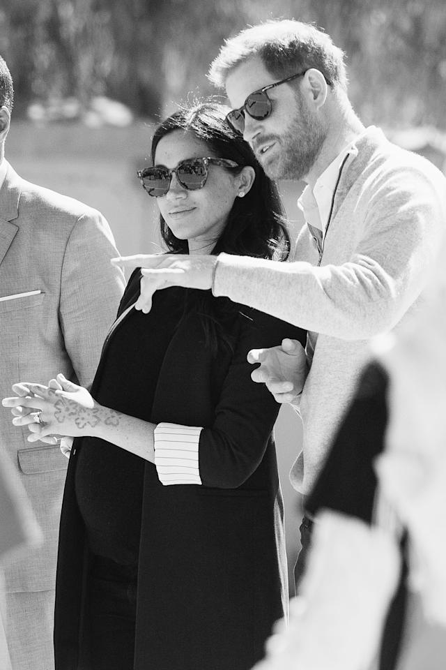 Meghan and Harry's Love Story Is Even More Beautiful in Black and White