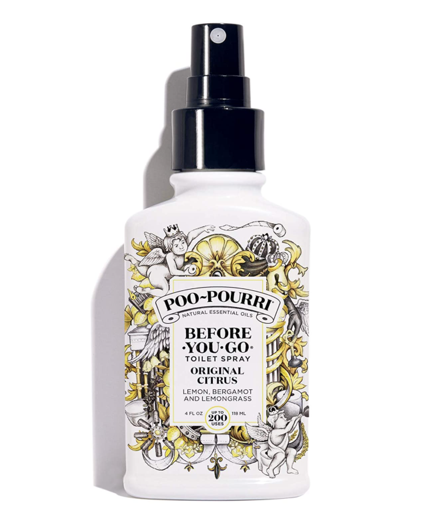 Poo-Pourri Before-You-Go Toilet Spray (Photo via Amazon)