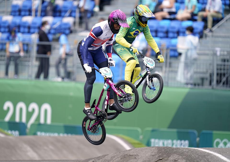 Kye Whyte won silver on his BMX (Danny Lawson/PA) (PA Wire)