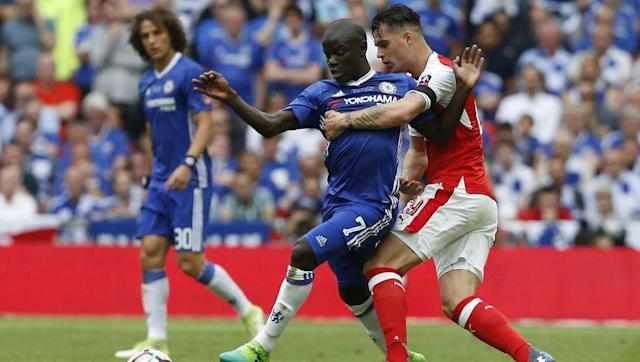 <p>Bossing the midfield will be crucial in this match, and the match-up between Granit Xhaka and N'Golo Kante looks set to be a fascinating battle.</p> <br><p>Xhaka has the physical attributes to shut Kante down, but his lack of discipline could prove costly in such a fiercely contested match.</p> <br><p>Kante was the PFA Player of the Year for a reason last season, and his ability to break up the play, as well as forge attacking moves, could see Xhaka chasing shadows for much of the game.</p>