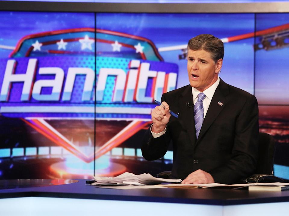 <p>Fox News' Sean Hannity called Prince Harry out at the end of his 9pm show</p> (Getty Images)