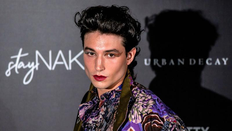 Ezra Miller Has Stunted on Us All By Wearing the Most Maximalist Outfit I've Ever Seen