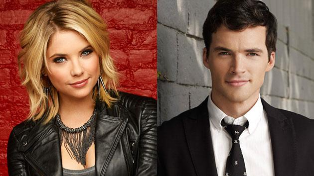 Ashley Benson and Ian Harding
