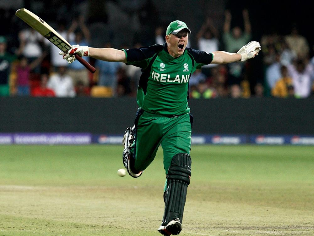 Kevin O'Brien scored the fastest 100 in World Cup history against England in 2011: Getty