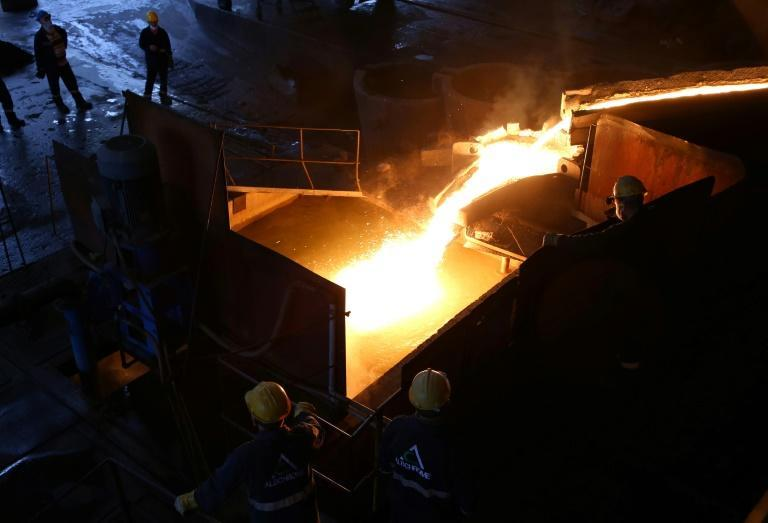At the AlbChrome ferrochrome plant in Elbasan, shipments have gone into free fall and only one of two furnaces are in operation