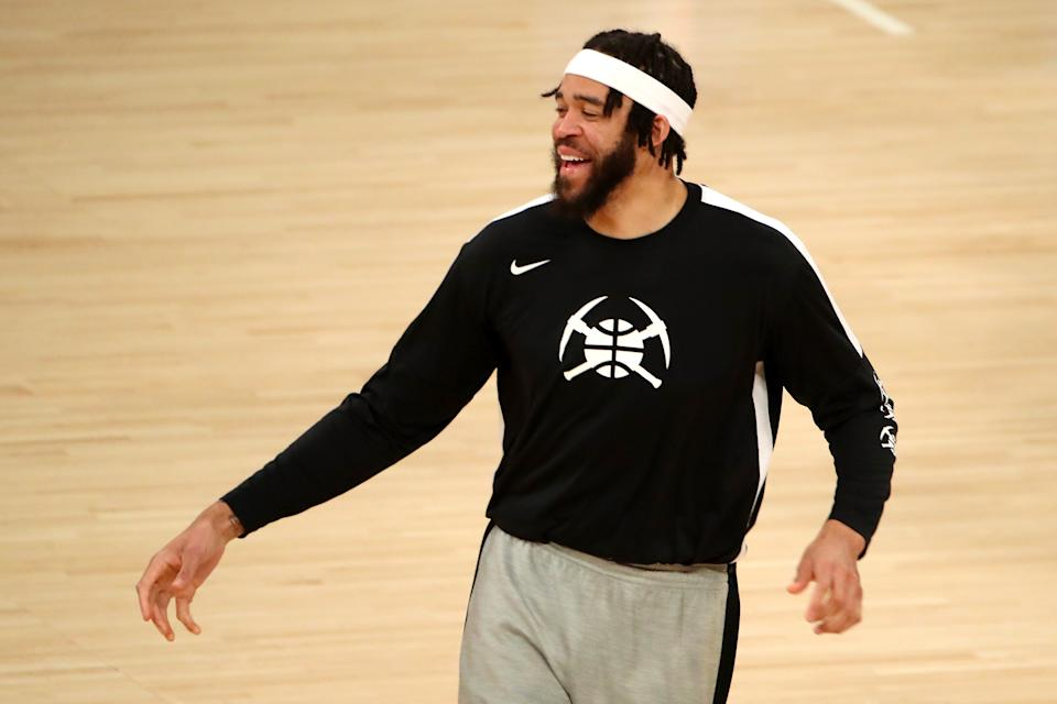 Veteran big man JaVale McGee will join the Phoenix Suns. (Katelyn Mulcahy/Getty Images)