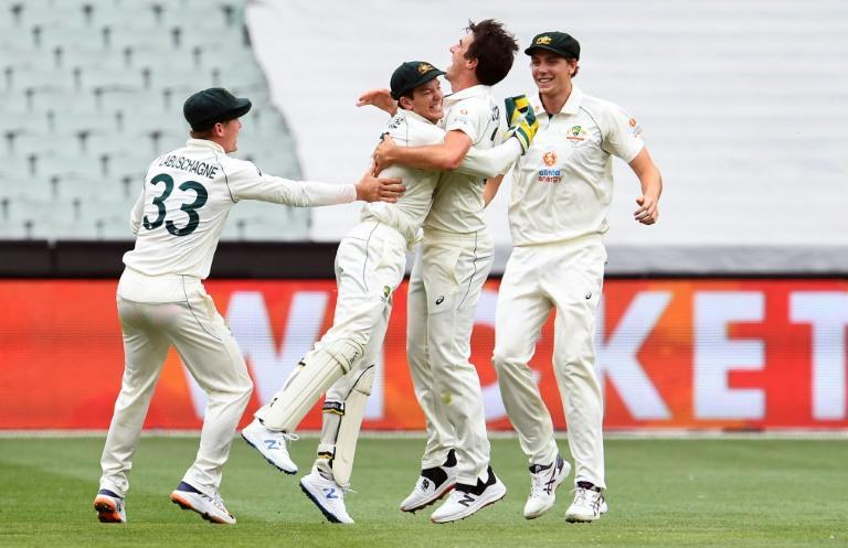 Australia's Pat Cummins bowled beautifully on day two of the second Test against India
