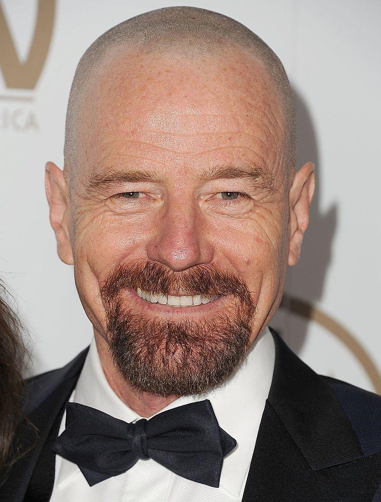 <p><strong>As seen on Brian Cranston</strong></p><p>This style has the same structure as the classic goatee—chin, moustache, lines connecting them —but is super sized. It covers more surface area on the shin and the lines besides the mouth are slightly thicker. It's also a little bit longer, so offers more coverage. Thanks to the wider shape and the longer length, it looks slightly less shaped than the classic, but still requires the same general upkeep.</p>