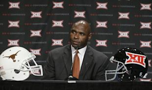 Charlie Strong is facing an uphill battle getting Texas back on track. (AP)