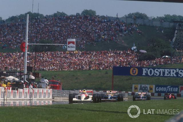 "31 - GP de Hungría, 1991, Hungaroring <span class=""copyright"">LAT Images</span>"
