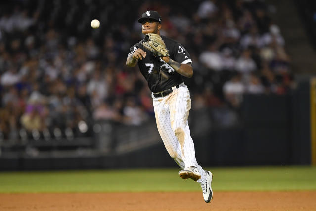 """<a class=""""link rapid-noclick-resp"""" href=""""/mlb/players/9897/"""" data-ylk=""""slk:Tim Anderson"""">Tim Anderson</a> had been having a career year for the <a class=""""link rapid-noclick-resp"""" href=""""/mlb/teams/chi-white-sox/"""" data-ylk=""""slk:White Sox"""">White Sox</a>. (Getty Images)"""