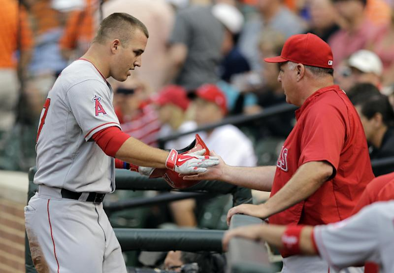 All quiet for Angels at trading deadline
