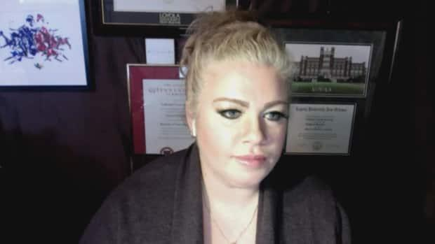 Kate Kemplin, a registered nurse on both sides of the border, says she understands and agrees with the decision that the health unit has made.  (Dan Taekema/CBC - image credit)