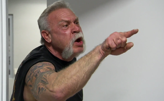 The argument between the father-and-son motorcycle makers on <em>American Chopper</em> has gotten a whole new life as a meme. (Photo: Discovery)