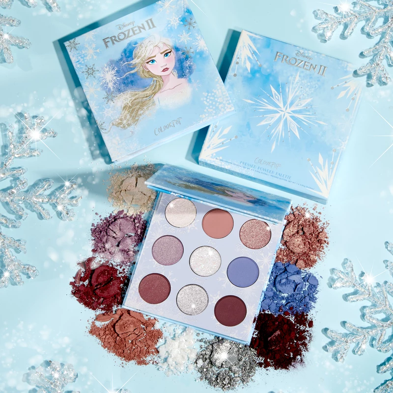 "ColourPop Cosmetics ""Frozen 2"" Elsa Collection (Photo courtesy of ColourPop Cosmetics)"