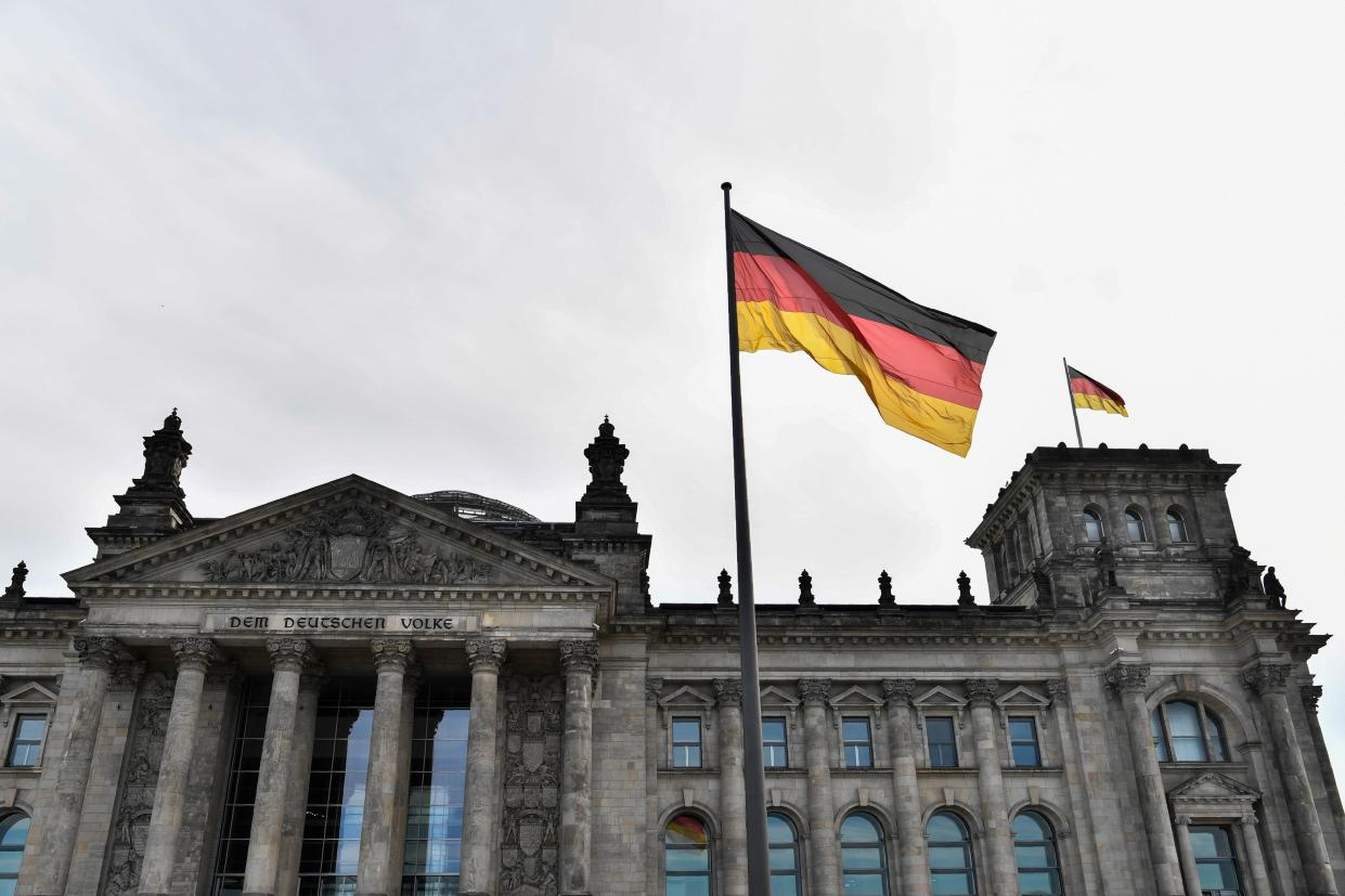The Reichstag building which houses the Bundestag lower house of parliament in Berlin, Germany. Photo: John Macdougall/AFP/Getty Images
