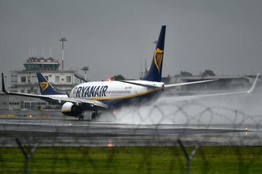 Ryanair-Maschine in Rom