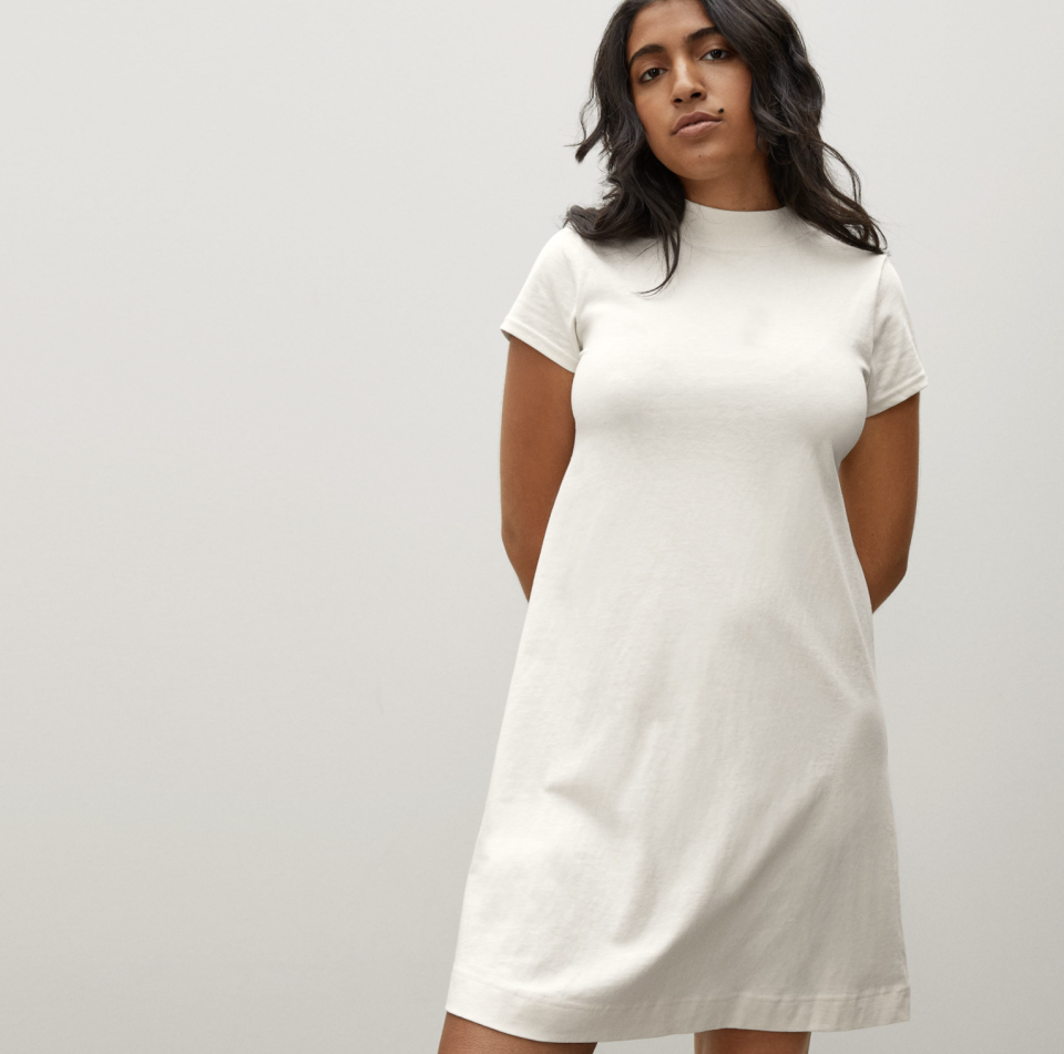 The perfect weekend outfit. (Photo: Everlane)