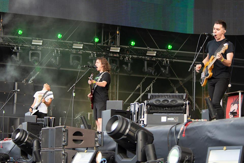 Le groupe Ultra Vomit en 2019 au Hellfest - Selbymay - Wikimedia - CC