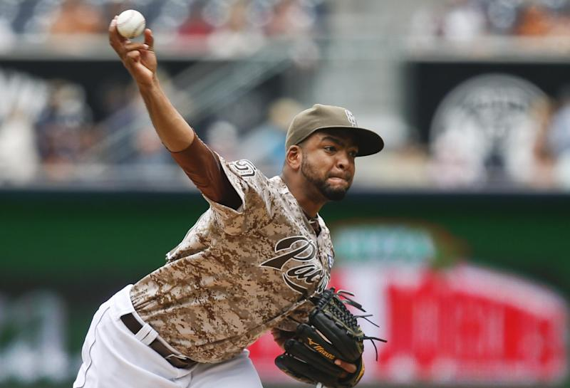 Rookie Despaigne, Maybin lead Padres to 2-1 win