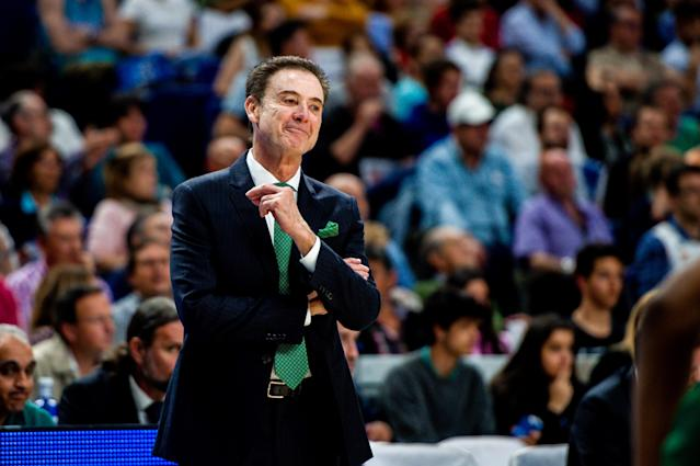 Rick Pitino coached Panathinaikos to a Greek League title. (Getty Images)