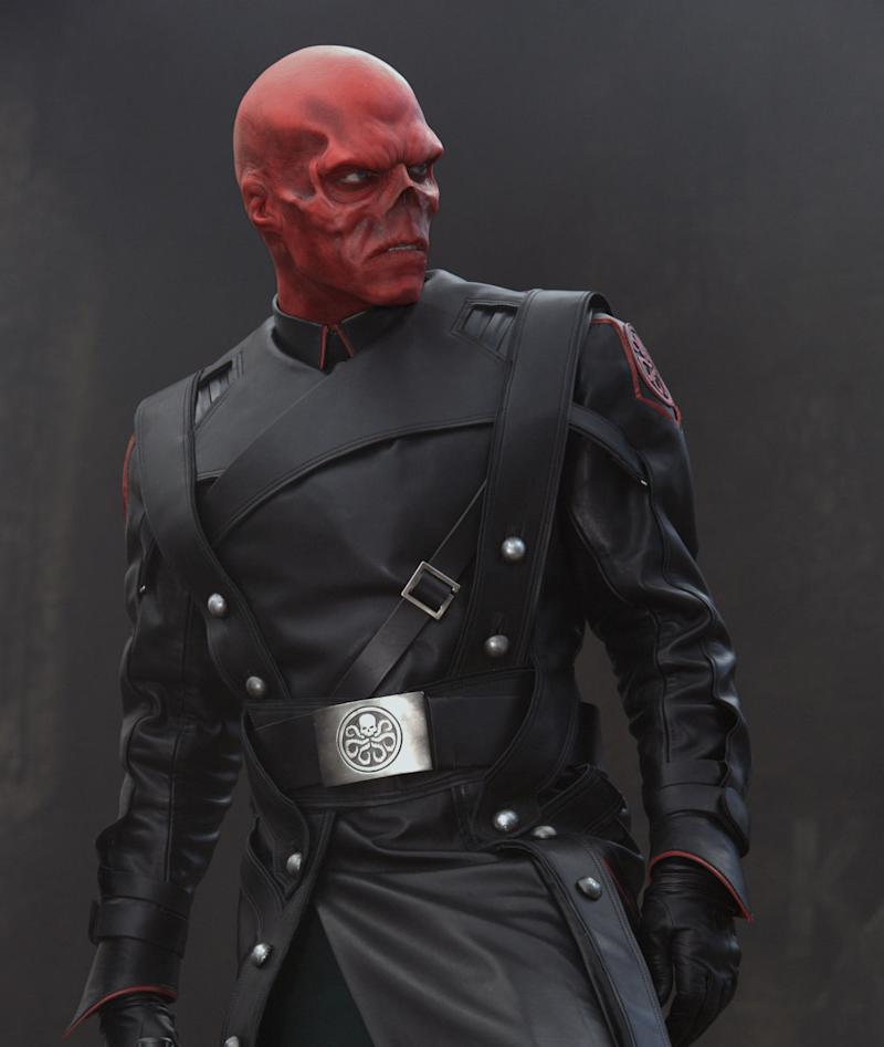 Hugo Weaving as Johann Schmidt / Red Skull, Hydra's big bad in <i>Captain America: The First Avenger</i>. (Marvel)