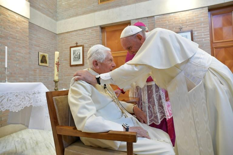 """As """"emeritus"""" Pope Benedict XVI continued in his retirement to write on the great themes of the Church, friction has arisen, creating the appearance of """"two popes"""" at odds"""