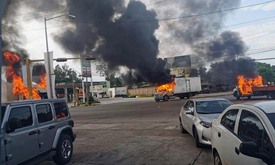 After Ovidio Guzman López was captured by troops in 2019, heavily armed cartel gunmen overran the Mexican city of Culiacán