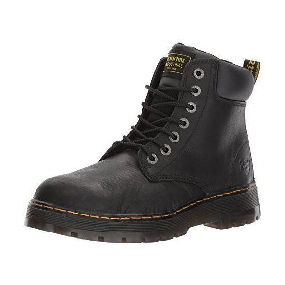 """<p><strong>Dr. Martens</strong></p><p>amazon.com</p><p><strong>$99.95</strong></p><p><a href=""""https://www.amazon.com/dp/B015WL0M3G?tag=syn-yahoo-20&ascsubtag=%5Bartid%7C2139.g.37131767%5Bsrc%7Cyahoo-us"""" rel=""""nofollow noopener"""" target=""""_blank"""" data-ylk=""""slk:BUY IT HERE"""" class=""""link rapid-noclick-resp"""">BUY IT HERE</a></p><p>Yes, these Doc Martens are really more of a combat boot but as we said, labels are arbitrary. For the best casual motorcycle boots you can get, opt for these steel-toed ones that make sure your feet stay safe no matter what you're doing.</p>"""