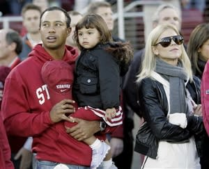 The Woodses came to Stanford on Nov. 21