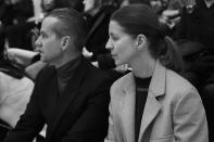 <p>Otto sits with Karla Otto's executive director, Alexander Werz, in Marni's front row.<br></p>