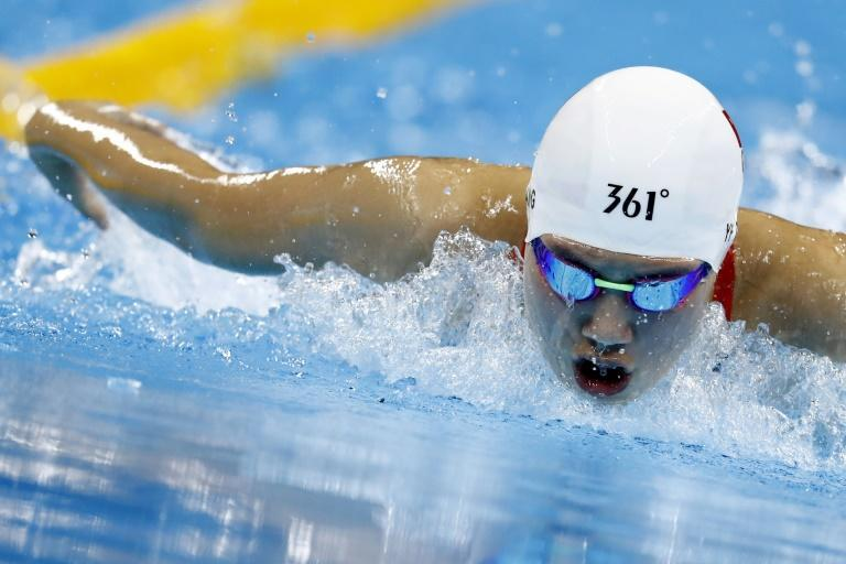 Swimmer Zhang Yufei is one of China's top hopes at the Tokyo Olympics