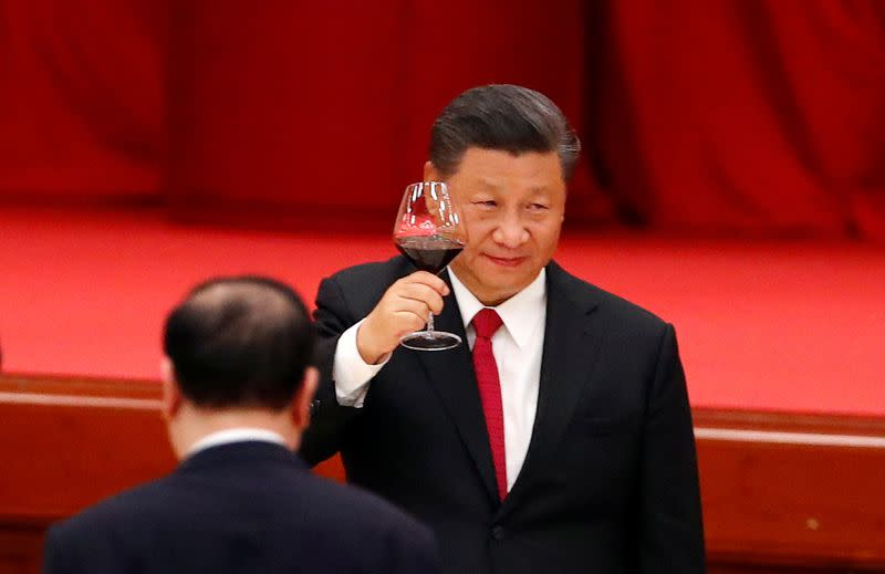 FILE PHOTO: 71st anniversary of the founding of the People's Republic of China