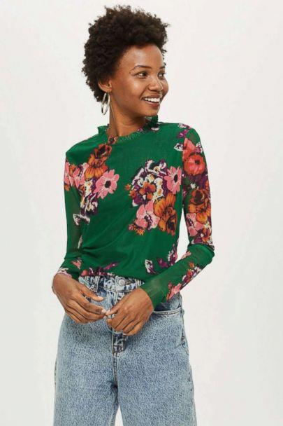 PHOTO: Floral Mesh Top by YAS (Topshop)