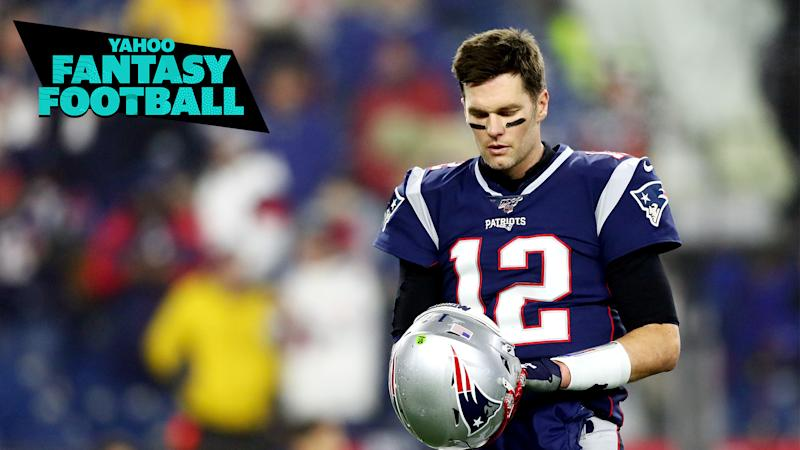 Tom Brady leaves New England.