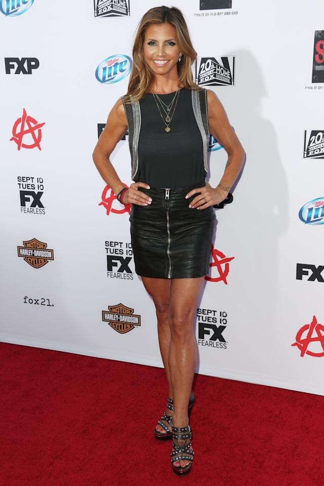 "HOLLYWOOD, CA - SEPTEMBER 07: Actress Charisma Carpenter attends the Premiere of FX's ""Sons of Anarchy"" Season 6 at the Dolby Theatre on September 7, 2013 in Hollywood, California. (Photo by Frederick M. Brown/Getty Images)"