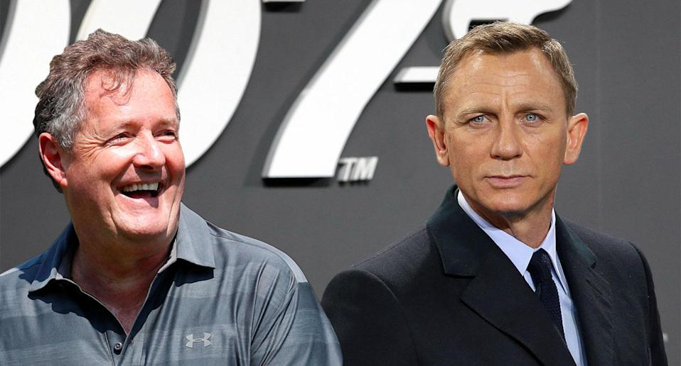"""Piers Morgan mocked Daniel Craig for using a """"papoose"""" (Reuters/Getty)"""