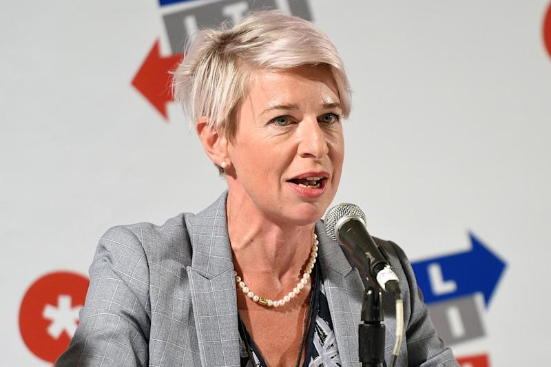 Katie Hopkins has joined right-wing Canadian website The Rebel Media: Getty Images for Politicon