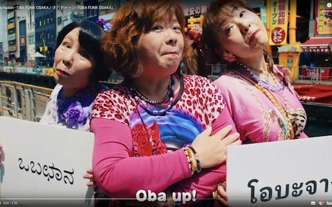 The women rap about the virtues of Osaka from its famous food to free Wi-fi