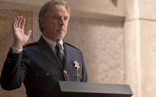 Don Johnson as police chief Dan Crawford - ©2019 Home Box Office, Inc. All rights reserved. HBO® and all related programs are the propert
